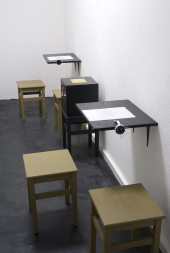 Ze Coeupel //S.A.V.E. Investigation Office//: 2012. Installation view, EXILE