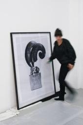 Big o.T., 2010. Archival inkjet print on artist paper, 150 x 120 cm (framed).