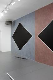 Martin Kohout Sol LeWitt :   Wall Drawing 731, 128 Rivington Street, 1993 & 2014  five insertions by Martin Kohout (New York), 2014.  Installation view