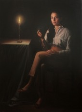 Michelle, 2012. Oil on canvas, 150 x 110 cm