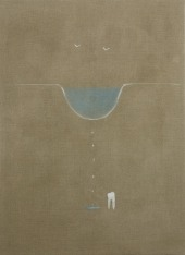 Paul Sochacki: Epistemic Heartbreak, 2015. Oil on linen, 150 x 110 cm